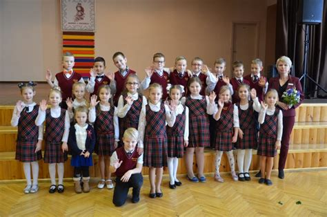 Pirmās 100 dienas 1. klasē! « Bauskas 2. vidusskola