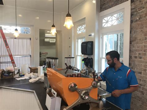 Great place to walk up and get coffee and breakfast! Sneak peek: Cafe ready to bring famous crepes and coffee to Midtown - CultureMap Houston