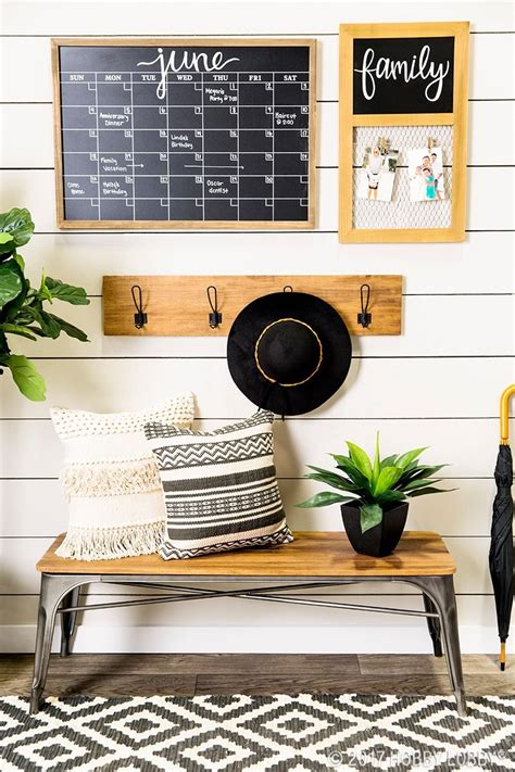 stay organized   date    trend entryway