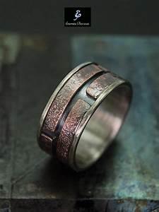 Unique Mens Ring Men39s Engagement Ring Mens Wedding