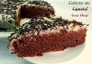 Creme Chocolat Sans Oeuf : gateau au chocolat sans oeufs recette delicieuse amour ~ Nature-et-papiers.com Idées de Décoration