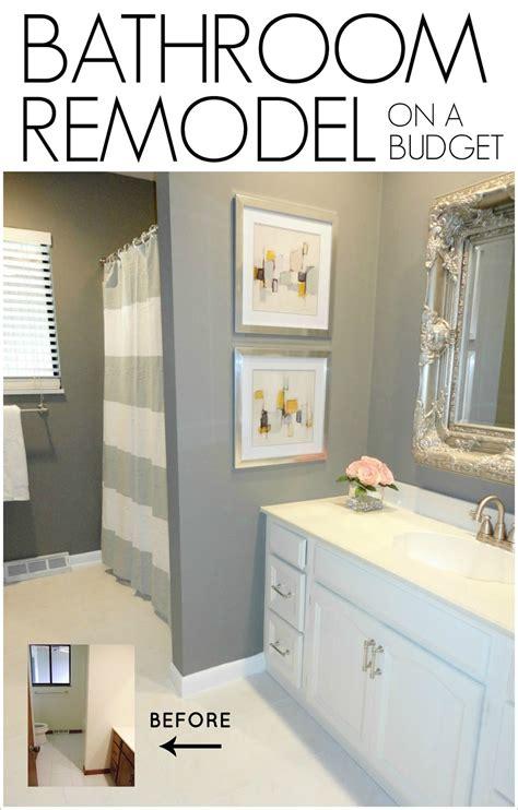 diy bathroom remodel   budget livelovediy bloglovin