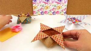 Spitztüten Für Süßigkeiten : origami star box falten weihnachtsdeko stern aufbewahrung f r s igkeiten 3d origami youtube ~ Eleganceandgraceweddings.com Haus und Dekorationen