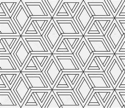 Geometric Pattern Vector Seamless Illustration Op Vectors