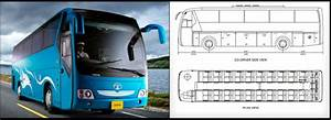 Tata Motors  Divo Luxury Coach With Layout  Diagram
