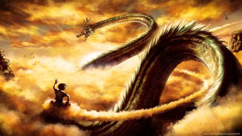 dragon ball dragon ball  shenron son goku wallpapers
