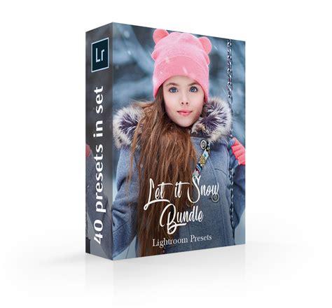 lightroom snow presets winter lr collectionsnow