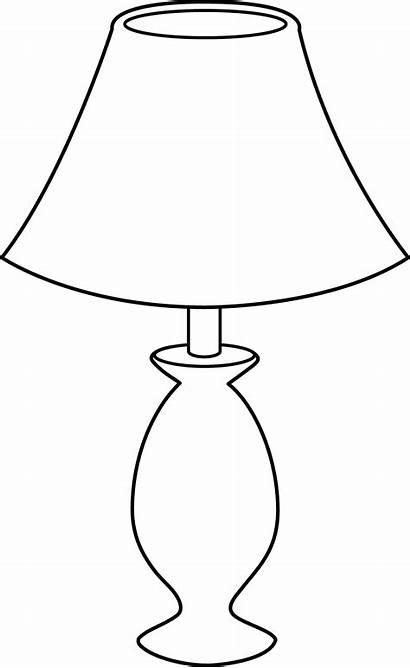 Lamp Clip Line Sweetclipart