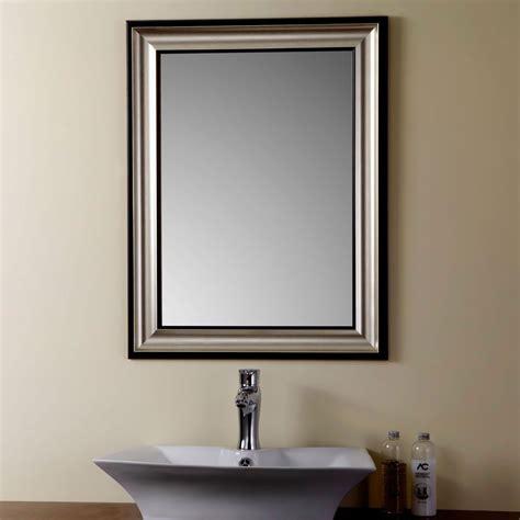 miroir personnalise avec photo miroir r 233 versible argent 233 avec cadre en bois imitation de salle de bains 23 6 po x 31 5 po yj