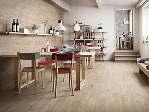 Pavimento in gres porcellanato effetto legno WOODTALE Ragno