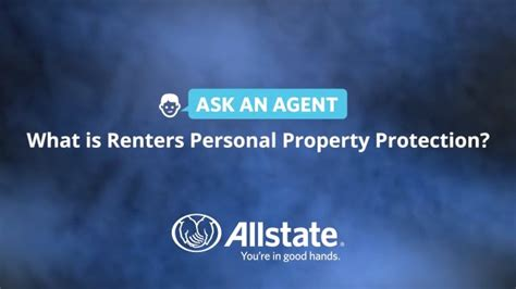 renters personal property coverage allstate