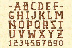 10 wild wood font images wood fonts free download wood for Wood lettering font