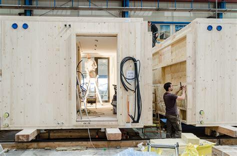 Holzbau Raummodule by Das System Kaufmann Zimmerei Tischlerei Holzmodulbau