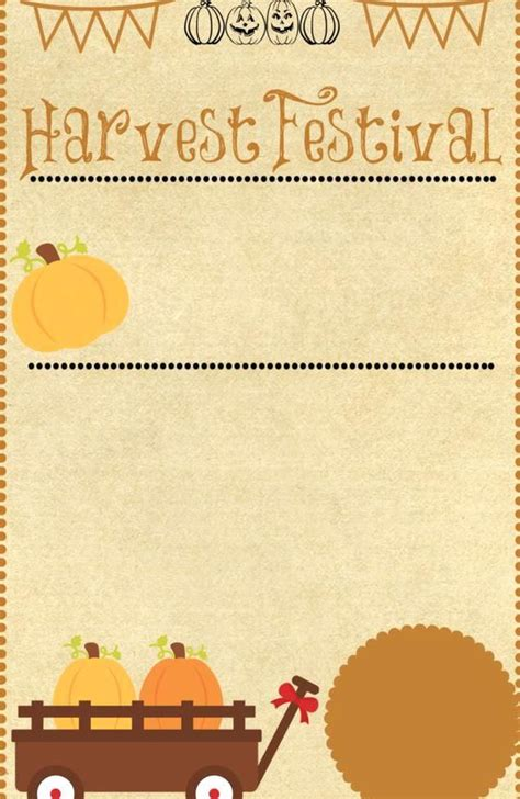 Harvest Festival Invitation Party Like a Cherry in 2020
