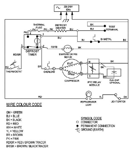 whirlpool refrigerator wiring diagram wiring diagram and schematic diagram