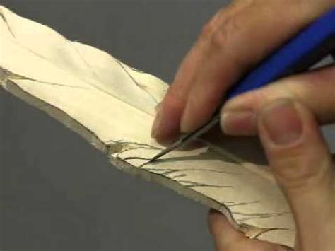 carve  pheasant feather youtube