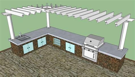 outdoor kitchen design plans free woodwork outdoor kitchen pergola plans pdf plans