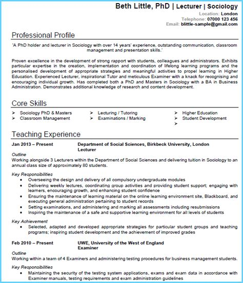 How To Make Professional Cv Format by 7 Best Cv Templates Wow Recruiters And Land Interviews