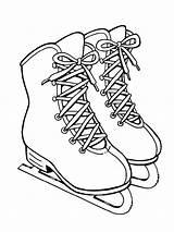 Ice Coloring Skates Ausmalbilder Mycoloring Schlittschuhe Printable Ausdrucken Malvorlagen Kostenlos Zum sketch template