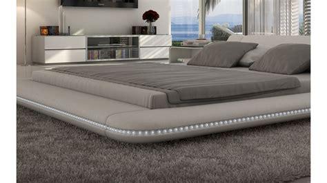 bureau lit lit design lumineux en simili cuir apex gdegdesign