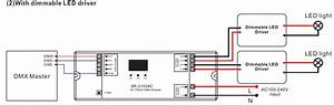 2 Channel Ac Triac Dmx512 Dimmer Sr