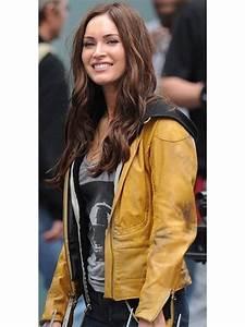 Teenage Mutant Ninja Turtles Megan Fox Leather Jacket