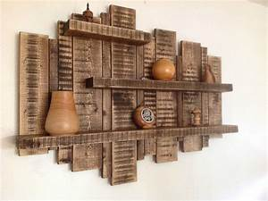 sale large wall mounted rustic floating shelf solid With kitchen cabinets lowes with large pallet wall art