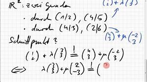 Schnittpunkt Zweier Geraden Berechnen : 02b 2 schnittpunkt zweier geraden youtube ~ Themetempest.com Abrechnung
