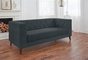 2 Sitzer Sofa Günstig : alte gerberei 2 sitzer sofa evelin mit knopfheftung online kaufen otto ~ Frokenaadalensverden.com Haus und Dekorationen