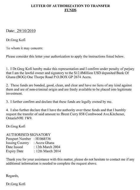 authorization letter  claim writing  authorization