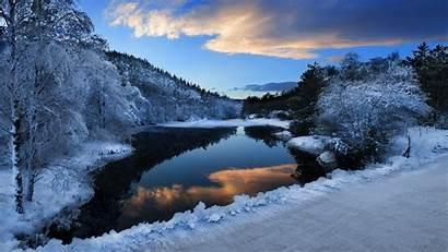 Snow Ice Mountain Lake Nature Wallpapers Desktop
