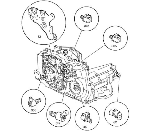 Hhr Drivetrain Diagram by 2002 Pontiac Grand Am Was Trying To Locate The Tcc
