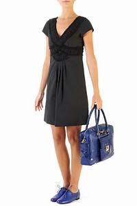 modele robe noire classique la mode des robes de france With robe noire classique