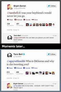 funny taco bell... Twitter Accounts Quotes