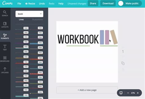 canva unknown tricks tips elements grouping