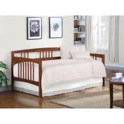 Dorel Bunk Bed by Wooden Daybed Walnut Kids Rooms Walmart Com