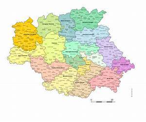Carte Du Gers Détaillée : carte des nouveaux cantons du gers avec villes et communes ~ Maxctalentgroup.com Avis de Voitures