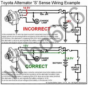 Wiring Diagrams For Alternators For Toyota
