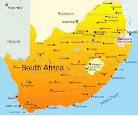 Johannesburg South Africa Map