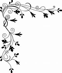 Simple Flower Border Designs To Draw - ClipArt Best