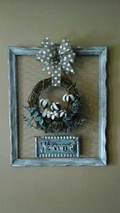 chicken, wire, , old, picture, frame, farmhouse, wreath