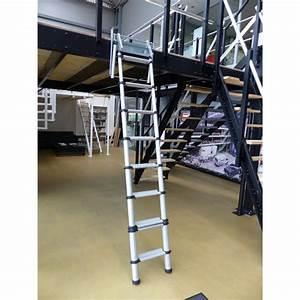 Echelle Pour Escalier : escalier t lescopique en aluminium pour des mezzanines ~ Melissatoandfro.com Idées de Décoration