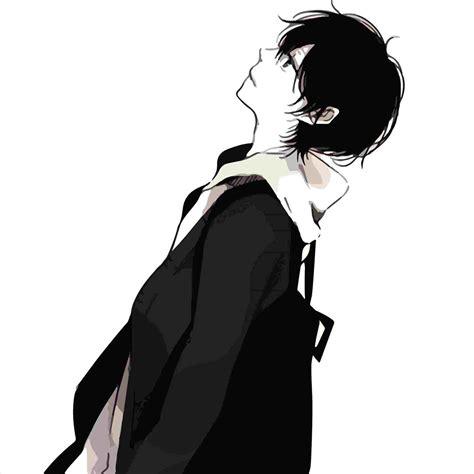 sad boy anime phone wallpapers