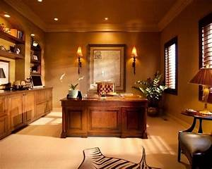 Executive Office Style inspiration, woods, lighting