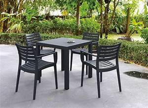 Table Carre Exterieur : table exterieur carre ekipia ~ Teatrodelosmanantiales.com Idées de Décoration