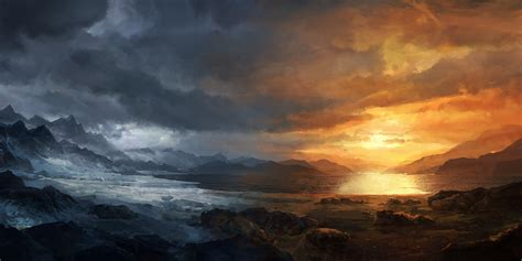 ice and fire by merl1ncz on deviantart