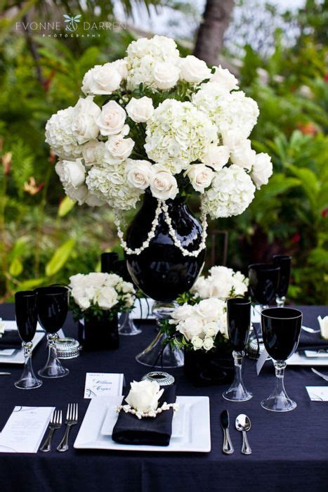 decoration table mariage style baroque