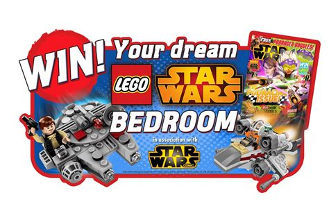 NEWS: Win your dream LEGO Star Wars bedroom! | The Test Pit