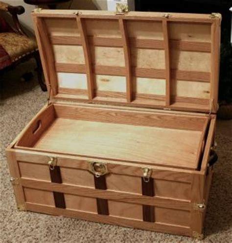 wood work wood trunk plans woodworking plans  beginners