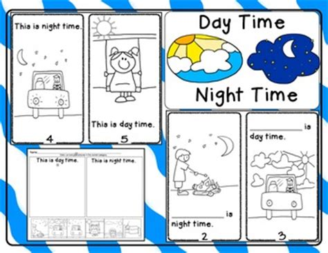 day time time emergent reader and response